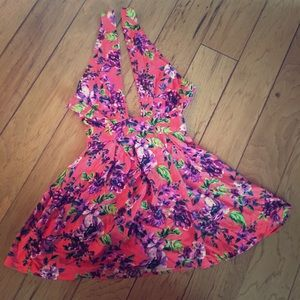 Pins & Needles Pants - Urban outfitters [pins & needles] Floral dress XS